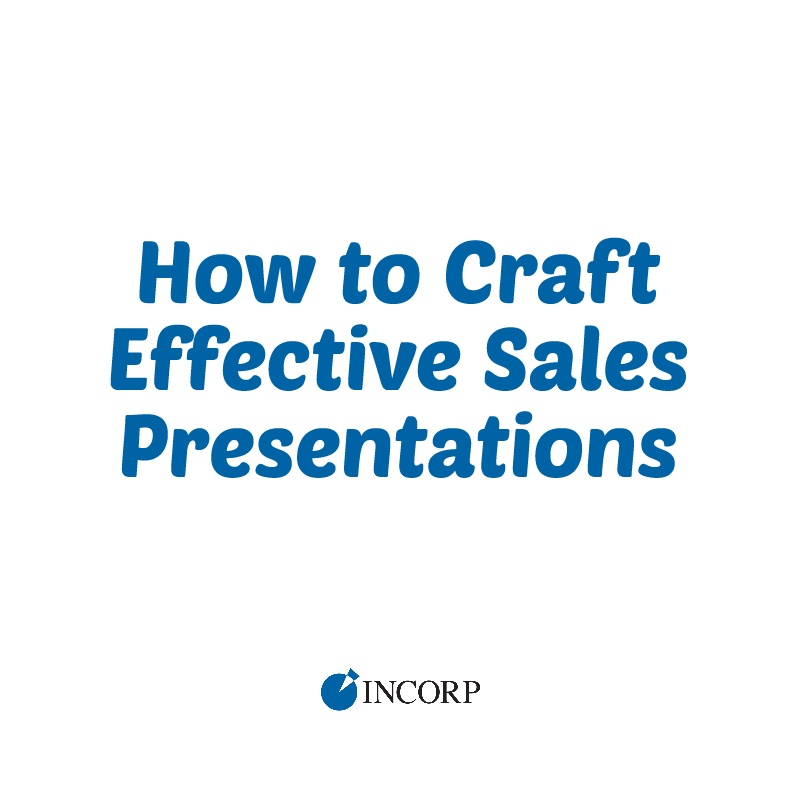how to craft effective sales presentations