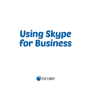 Using Skype for Business