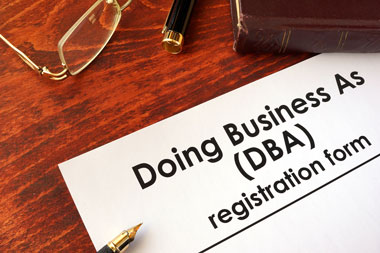 Doing Business As (DBA) Registration Form