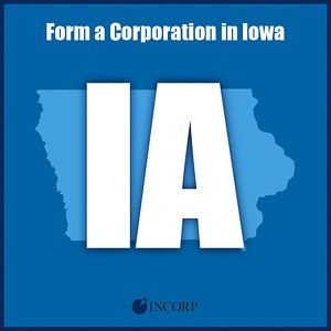 Order Iowa Incorporation Services